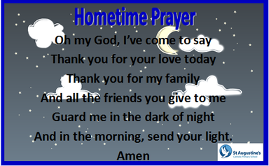 Prayers | St Augustine's Catholic Primary School
