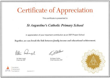 Certificate of appreciation st augustines catholic primary school submit a comment cancel reply yelopaper Image collections